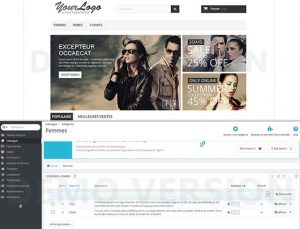 Front-office back-office prestashop