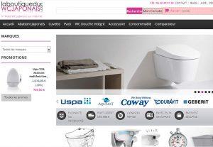 WC Japonais en ligne